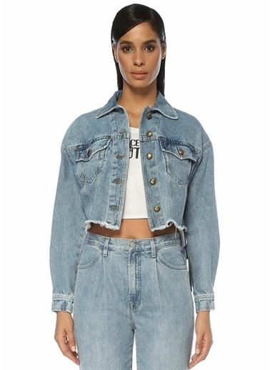 Versace Jeans Ceket Mavi